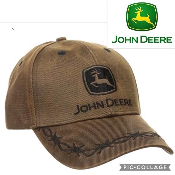 John Deere Other - John Deere Country Waxed Cotton Baseball Cap b1ffe0b22bc7